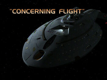 Concerning Flight title card