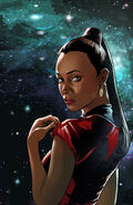 Countdown to darkness, couverture Uhura ébauche 2