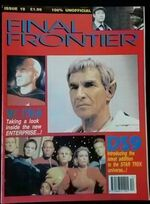 Final Frontier issue 19 cover