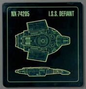 ISS Defiant plaque cover