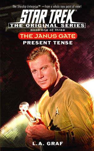 Cover of book 1, <i>Present Tense</i>