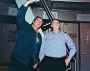 Rick Berman and Bill Gates