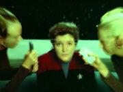 Srivani experimenting on Janeway
