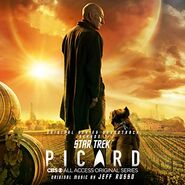 Star Trek Picard Soundtrack Season 1 cover