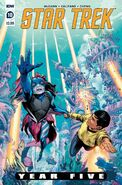 Star Trek Year Five issue 10 cover A