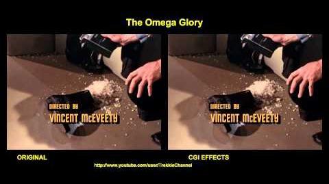"""TOS """"The Omega Glory"""" - """"Nous, le peuple"""" - comparaison des effets spéciaux"""