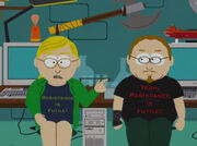 Trekkies in South Park