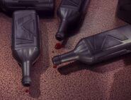 Blutwein Flaschen