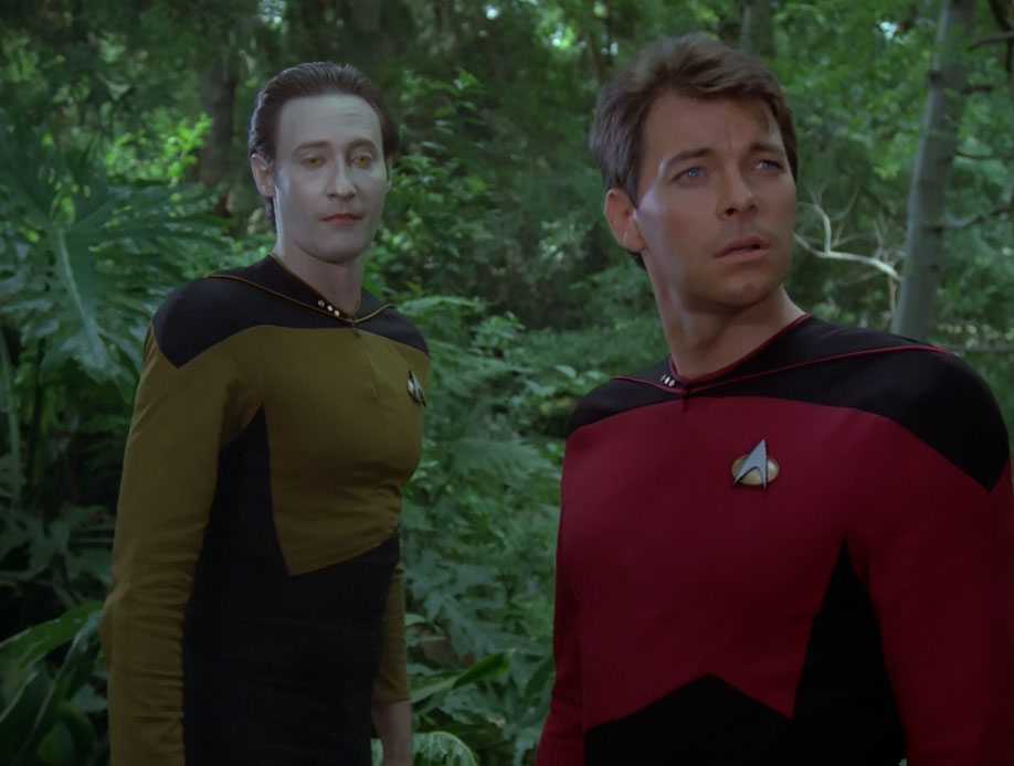 image data and riker in holodeck forest jpg memory alpha