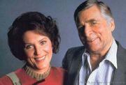 Majel et Gene Roddenberry