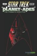Primate Directive issue 1 Think Geek cover