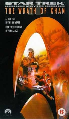 The Wrath of Khan 1998 UK VHS cover