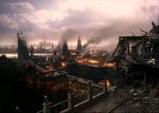 Cardassia in ruins