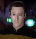 Data with blue eyes