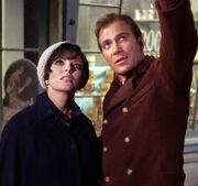 Edith Keeler and Jim Kirk