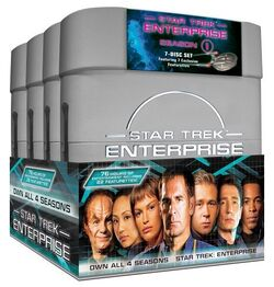 Enterprise Season 1-4 boxset