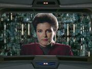 Janeway schließt Allianz mit den Borg