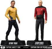 McFarlane Kirk Picard 7-inch figures