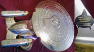 Playmates Gold USS Enterprise-D prototype