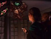 Sisko und Dax entdecken Wechselbalg