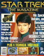 Star Trek The Magazine test issue 2 cover