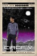 Star Trek Year Five issue 12 cover RI