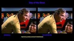 """TOS """"Day of the Dove"""" - """"La colombe"""" - comparaison des effets spéciaux"""