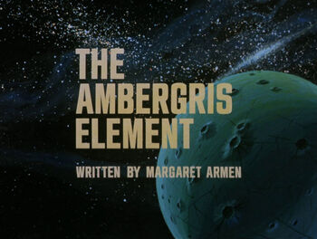 The Ambergris Element title card