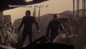 Shockwave, Part II title card