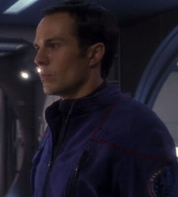 ... as an Enterprise security crewman
