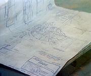 Battle bridge set plan