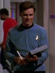 Besatzungsmitglied Enterprise 1 2268 Sternzeit 4523