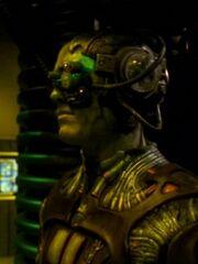 Borg-Drohne im Frachtraum 1