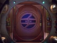 Ferengi shuttle airlock, 2371