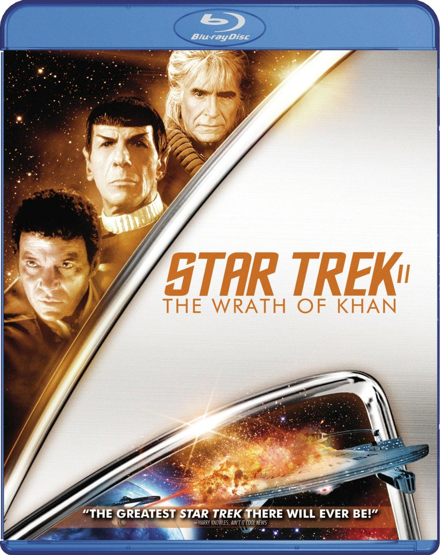 Star Trek II The Wrath of Khan Blu-ray cover Region A