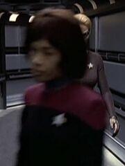Sternenflottenoffizier Kommando 1 USS Voyager 2376 Sternzeit 53359