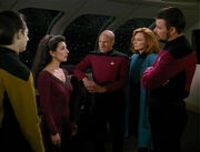 Troi leads briefing