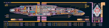 USS Defiant Deckplan