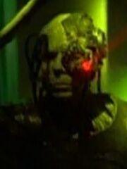 Borg-Drohne auf Kubus 10