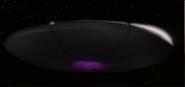Créature de l'espace - vaisseau