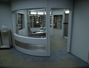 Intrepid class sickbay from inside lab