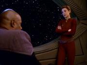 Nerys berichtet Sisko