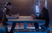 Picard speaks with Soji on La Sirena