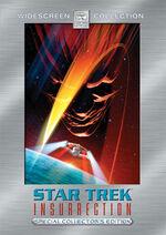 Star Trek Insurrection Special Edition DVD cover (Region 1)