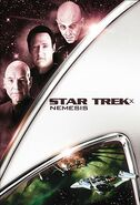 Star Trek Nemesis 2013 DVD cover Region 1