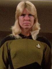 Sternenflottenoffizierin Sicherheit USS Enterprise-D 2364