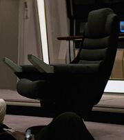 USS Enterprise-A command chair, 2287