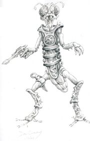 Xindi-Insectoid sketch