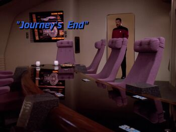 Journey's End title card
