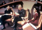 Frakes, Stewart and Sirtis